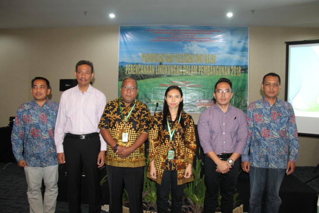 Master of Environmental Sciences Collaboration between Pusbindiklatren Hold Green Education Training